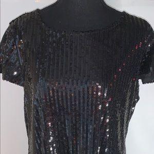 Ashely Stewart Sequin Dress